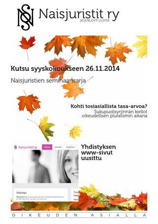 Naisjuristit 02/2014