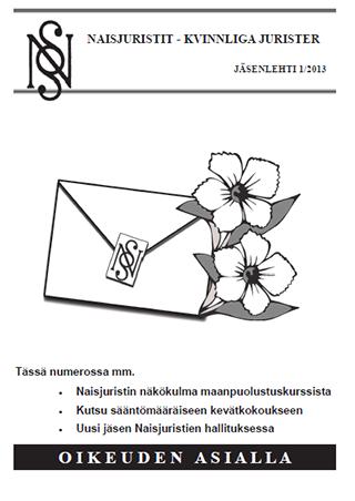 Naisjuristit 01/2013